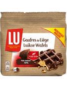 LU GAUFRES CHOCOLAT NOIR 70% 5P - 260GR