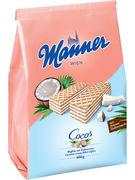 MANNER GAUFRETTES COCO 400GR