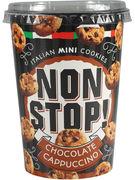 NON STOP COOKIES CHOCOLAT CAPPUCINO 125GR