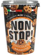NON STOP COOKIES CHOCOLAT AMARETTO 125GR