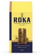 ROKA CHEESE STICKS GOUDA CHEESE WITH CHIA SEEDS 80GR