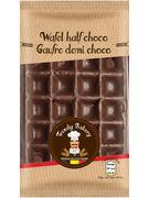 TRENDY GAUFRE VANILLE DEMI CHOCOLATE 1P 65GR