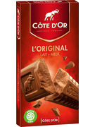 COTE D OR TABLETTES ORIGINAL LAIT 200GR