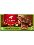 COTE D OR TABLETTES DOUBLE NOISETTE 200GR
