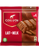 COTE D OR BATONS LAIT 4-PACK