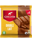 COTE D OR BATONS DOUBLE LAIT 4-PACK