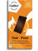 TABLETTE NOIR ORANGE 70% 80GR