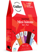 GALLER POCKETBAG  15 MINI BATONS ASS. NOIR 180GR