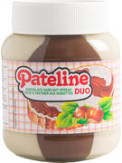 PATELINE PATE A TARTINER CHOCO DUO 400GR (OV 12)