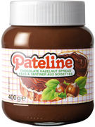 PATELINE PATE A TARTINER CHOCO NUT 400GR (OV 12)