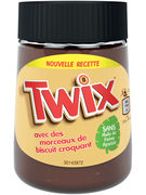 TWIX SPREAD WITH CRUNCHY BISCUIT PIECES 350GR