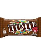 M&M S CHOCO SACHET SINGLE 45GR