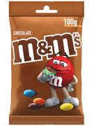 M&M S CHOCO BAG 100GR