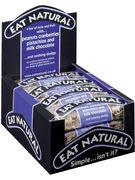 EAT NATURAL CACAHUETES bleu AIRELLE PISTAC CHOC.LAIT 45GR