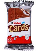 KINDER CARDS CHOCOLAT 25,6GR