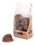 MARSHMALLOWS CHOCOLATE KISS SALTED CARAMEL BAG 6P