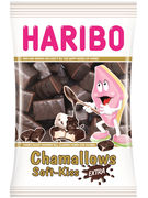 HARIBO CHAMALLOWS LARDS SOFT-KISS EXTRA SACHET 175GR