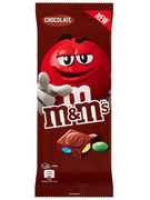 M&M S TABLET CHOCO 165GR