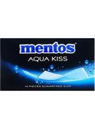 MENTOS GUM AQUA KISS ALASKAN FRESH MINT 14P