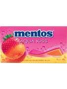MENTOS GUM AQUA KISS STRAWB/MANDARIN 14P
