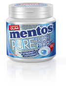 MENTOS GUM PURE FR.FROST STRONG PEPPERMINT BOTTLE 50P