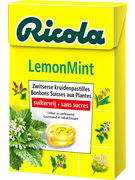 BOX RICOLA LEMON MINT S/S 50GR