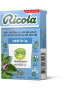 BOX RICOLA MENTHOL S/S 50GR