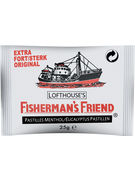 FISHERMAN S FRIEND STRONG BLANC 25GR