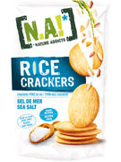 N.A! RICE CRACKERS SEA SALTED SANS GLUTEN 70GR