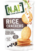 N.A! RICE CRACKERS BLACK PEPPER SANS GLUTEN 70GR