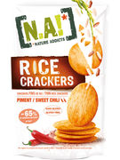 N.A! RICE CRACKERS SWEET CHILI SANS GLUTEN 70GR