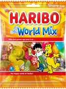 HARIBO WORLD MIX SACHET 180GR