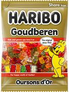 HARIBO OURSON D OR SACHET 185GR