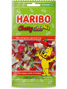HARIBO FLOWPACK CHERRY COLA MIX 100GR