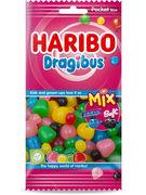 HARIBO FLOWPACK DRAGIBUS MIX 130GR