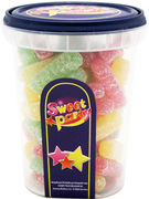 SWEET PARTY CUP STICKS CITRIQUES 190GR