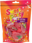 SWEET PARTY STAND UP BAG 200GR EXTRA SWEET 4 SORTES