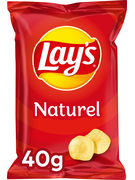 LAY S CHIPS NATUREL 40GR