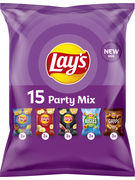LAY S PARTY MIX CHIPS 5VAR 15P 396GR