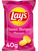 LAY S CHIPS CLASSIC BURGER 40GR