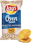 LAYS CHIPS OVEN BAKED PAPRIKA 150GR