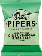 PIPERS BURROW HILL CIDER VINEGAR & SEA SALT 40GR
