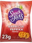 SNACK A JACKS GALETTES DE RIZ BARBECUE PAPRIKA 23GR