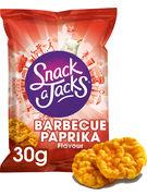 SNACK A JACKS GALETTES DE RIZ BARBECUE PAPRIKA 30GR