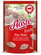 AOSTE SNACK PUR PORC 40GR