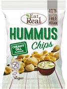 EAT REAL CHIPS HUMMUS  CREAMY DILL 135GR