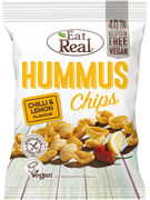 EAT REAL CHIPS HUMMUS  CHILLI & LEMON 135GR