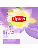 LIPTON FEEL GOOD SELECTION INFUSION TILLEUL PROF 100S 160GR