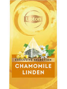 LIPTON EXCLUSIVE INFUS.CAMOMILLE LINDEN PYR.25S