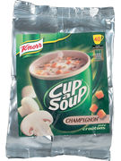 CUP A SOUP DISPENSER CHAMPIGNONS 40P VENDING